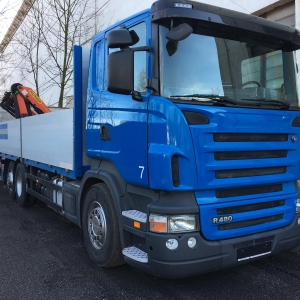 SCANIA 480_front